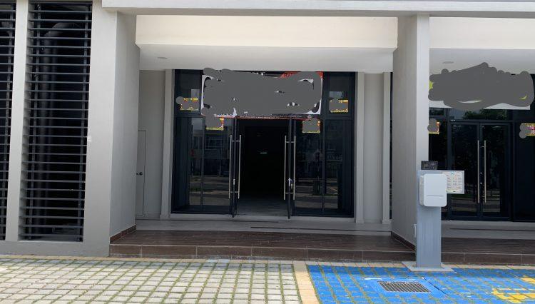 ground main entrance
